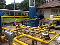 Gas Piping Installation Project